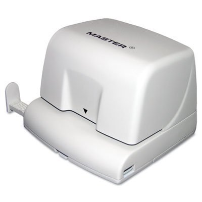 Electric Two-Hole Punch, 10-Sheet Capacity, Sold as 1 Each