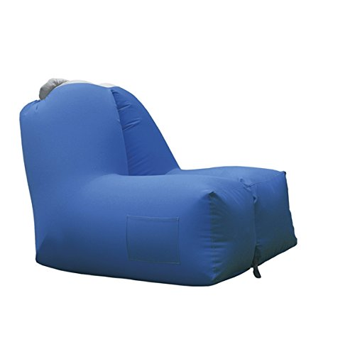 Brandani Sillón hinchable Azul poliéster: Amazon.es: Jardín
