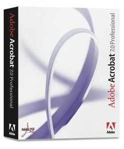 Adobe Acrobat 7 0 Professional Mac product image
