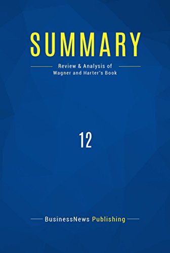 Amazon summary 12 review and analysis of wagner and harters summary 12 review and analysis of wagner and harters book by publishing fandeluxe Choice Image