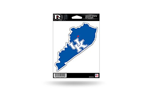 Rico Industries NCAA Kentucky Wildcats Home State Sticker ()