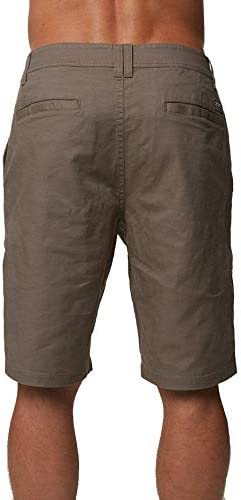 ONEILL Mens Standard Fit Stretch Chino Walk Short 20 Inch Outseam