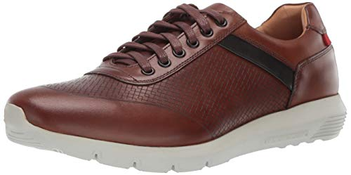 - Marc Joseph New York Mens Genuine Leather Chelsea Sneaker, whiskey print nappa 13 M US