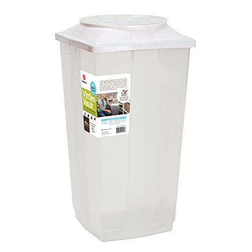 Vittles Vault Home 40 lb Airtight Pet Food Storage Container (40 Lb Storage)