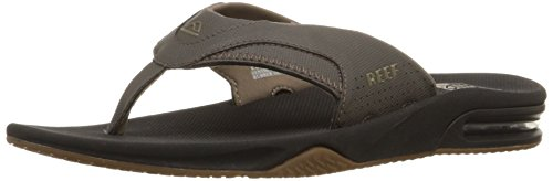 Reef Men's Fanning Sandal, Vintage Brown, 8 M US