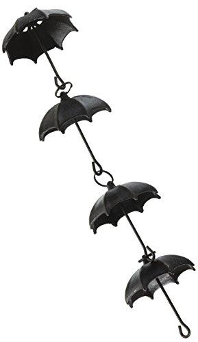 NACH js-RNC007 Umbrella Cast Iron Rain Chain, 96″