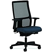 HON Ignition Series Mid-Back Work Chair - Mesh Computer Chair for Office Desk, Blue (HIWM3)