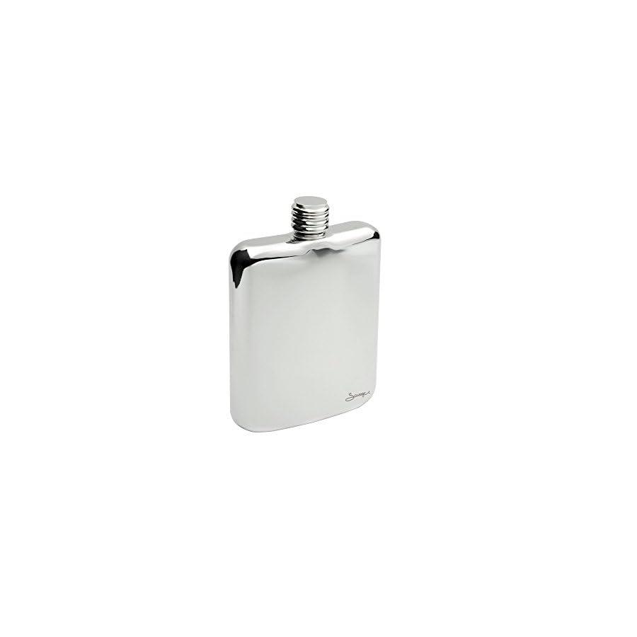 SAVAGE 6oz Stainless Steel Hip Flask RMF 09