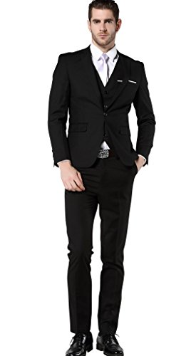 0a0f6e5f48f8b MOGU Men's Slim Fit 3 Piece Dress Suits Prom Dress Suit Set – Cloud ...