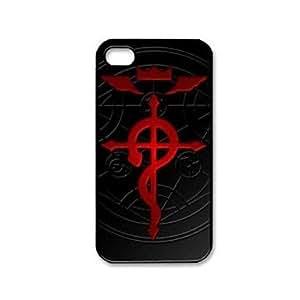 "HC-TConline Popular ""Fullmetal Alchemist Brotherhood"" de encargo del modelo de plástico duro caso para iPhone 4/4S"