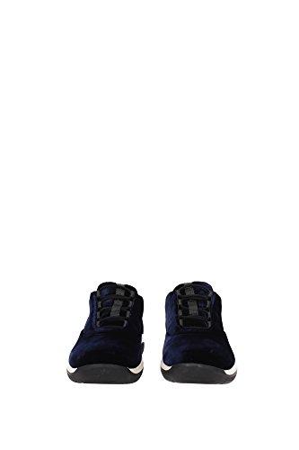 3E6205BLEU Blau Prada EU Sneakers Damen Ex6qFOnwz