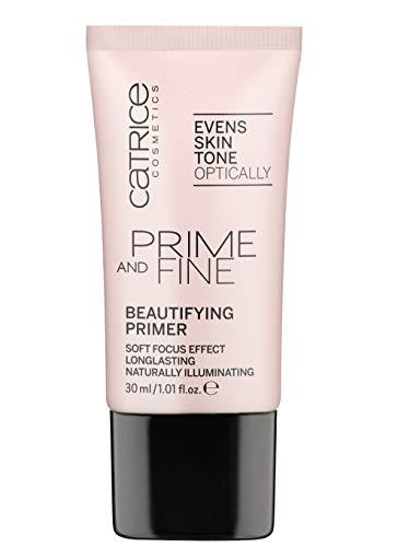 Catrice Prime & Fine Beautifying Primer - Luminous Glow Primer (Best Of Catrice Makeup)