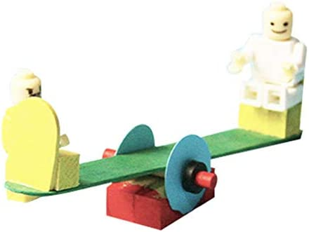 Flameer Wooden Seesaw Toy Model Diy Jigsaw Puzzle Perfect