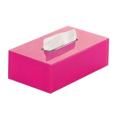 Rainbow Tissue Box Cover Color: Fuschia by Gedy by Nameeks