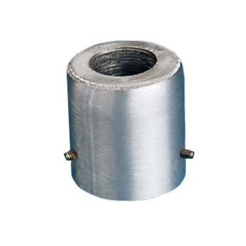 (Flagpole Top Adapter PTA-212 2.5 Inch Silver)