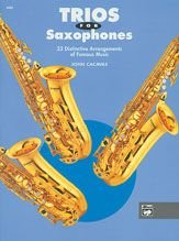 Alfred 00-4988 Trios for Saxophones - Music Book B003J2RRIE