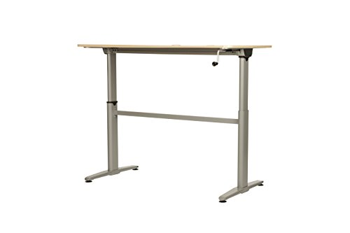 Cool Living Aluminum Stand Up Desk, Silver
