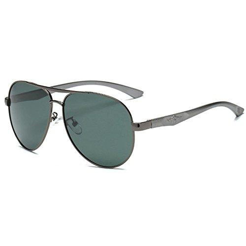 piloto sol polarizadas Hombres aluminio de A magnesio de Aoligei conducción gafas gafas de waHBSTxqP