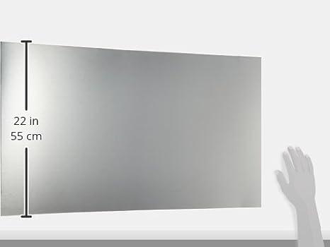 Plateado Compactor Protector Salpicaduras Grande