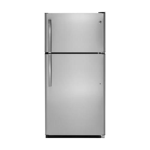 """GE GTS21FSKSS 32"""" Freestanding Top Freezer Refrigerator, ..."""