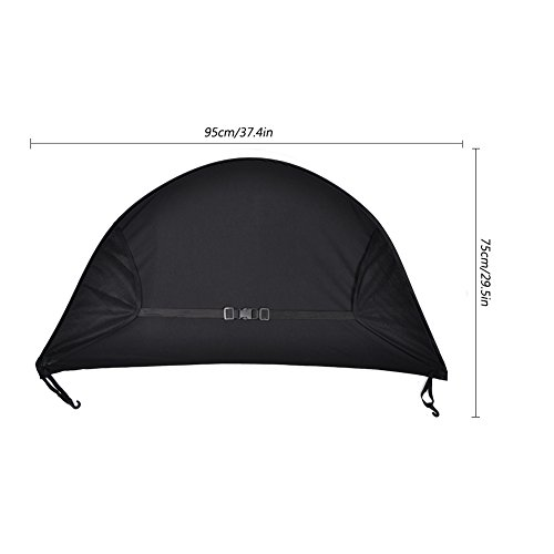 Sun Shade for Strollers WZTO Baby Car Seat Sun Shade Cover Soft, Breathable, Baby Stroller Canopy Air-Permeable and Universal Fit Strollers by WZTO (Image #5)