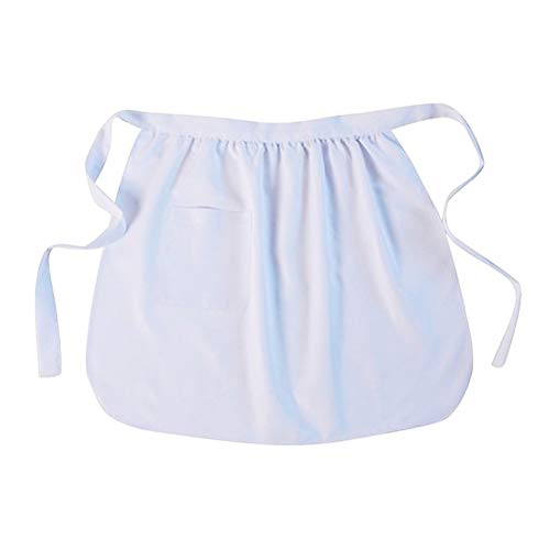 Making Believe Basic Pioneer Peasant Costume Apron (Girls/Teens, White)