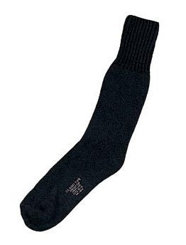 6152 Black Heavyweight Cold Weather Thermal Boot Socks - Sock Boot Weather Heavyweight Cold