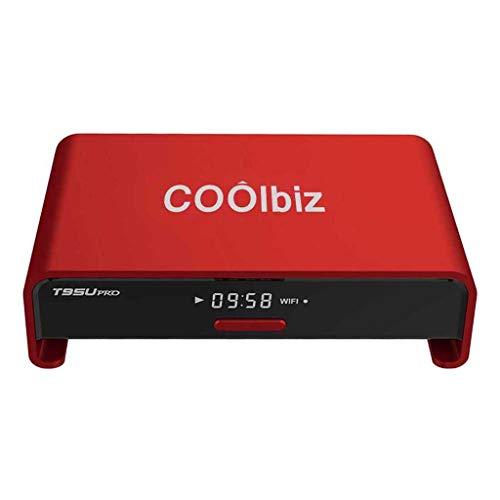 US Fast Shipment Set-top Box Android 6.0 TV Box Octa Cor-e 2GB DDR3 + 16GB WiFi HD Media Player (Red)