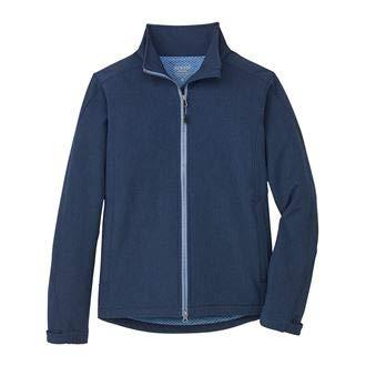 (Dover Saddlery Ladies' Spring Tech Jacket, Medium, Navy/Cornflower)