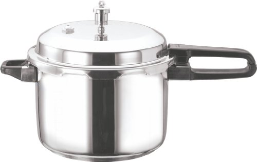 Vinod V-5L Stainless Steel Sandwich Bottom Pressure Cooker, 5-Liter