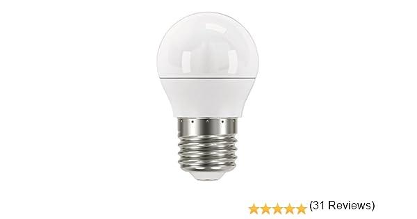 Emos zq1120 a +, bombilla de LED Classic Mini Globe, blanco cálido ...