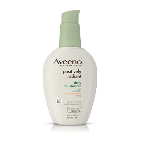Aveeno Positively Radiant Daily Moisturizer With Sunscreen Broad Spectrum Spf 15, 4 Oz by Aveeno (Image #9)