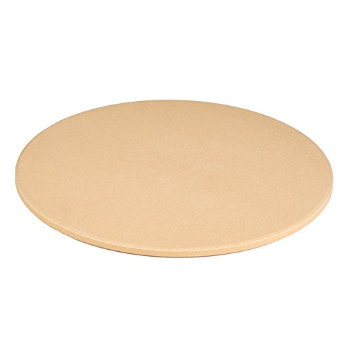 Dofover 12.6'' Round Pizza Stone, Baking Stone For Oven & BBQ Grill (12.6 Inch) by Dofover