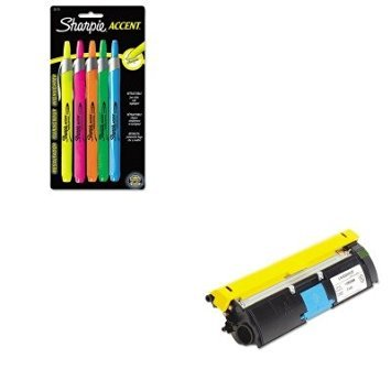 KITSAN28175PPXER113R00689 - Value Kit - Xerox 113R00689 Toner (XER113R00689) and Sharpie Retractable Highlighters (SAN28175PP)