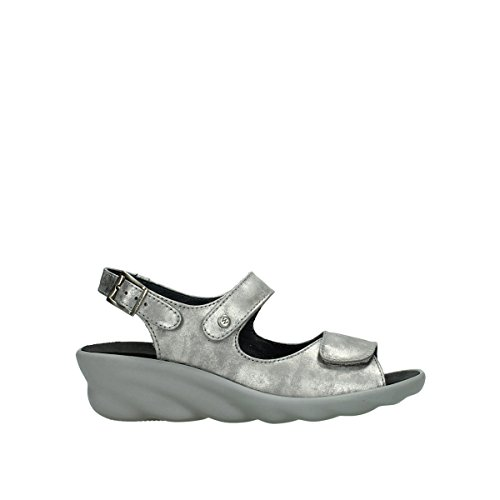 Mujer de gris 3125 Vestir Wolky para Sandalias 120 q6tZYU8