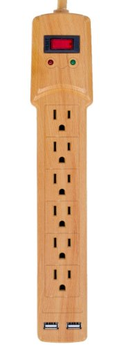 invisiplug-6-outlet-surge-protector-with-2-usb-ports-and-900-joules-protection-model-ln002