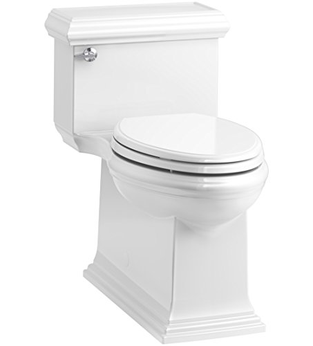 Woodbridge T 0010 Dual Flush Elongated One Piece Toilet