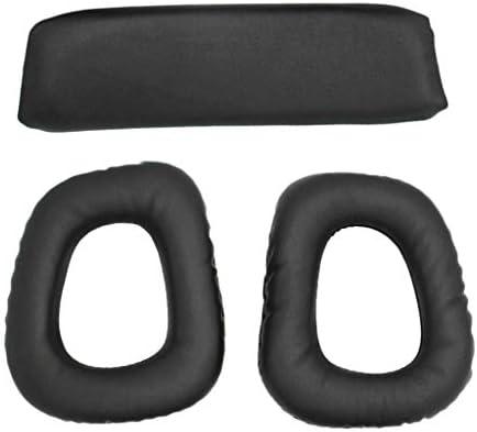 [해외]FLAMEER Logitech G35 G930 G430 F450 헤드폰과 호환성 계층 패딩 헤드 밴드 패드 / FLAMEER Logitech G35 G930 G430 F450 Headphonecompatible With Earpad Headband Pad
