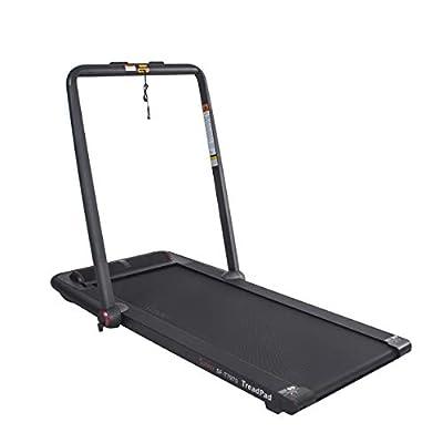 Sunny Health & Fitness Treadpad Flat Folding Treadmill with Premium Sound System - SF-T7970