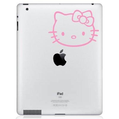 Hello Kitty for iPadデカール、Die Cut Vinyl Decal for Cut Windows車 Kitty、トラック、ツールボックス、ノートパソコン、ほぼすべてmacbook-ハード、滑らかな表面 グレイ Titans-Unique-Design-110096-Light Blue ライトブルー B071Z6SZFL, e-フラワー:06ef4e81 --- m2cweb.com
