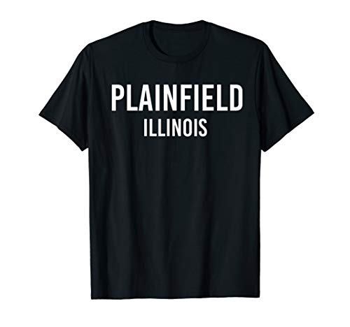 PLAINFIELD ILLINOIS IL USA Patriotic Vintage Sports -
