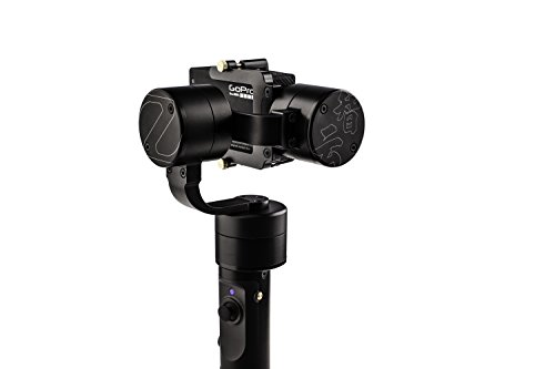 Zhiyun Evolution 3-Axis Handheld Gimbal for GoPro Hero 3, Hero 3+, Hero 4, CNC Aluminum Alloy Construction, 1-Year USA Warranty