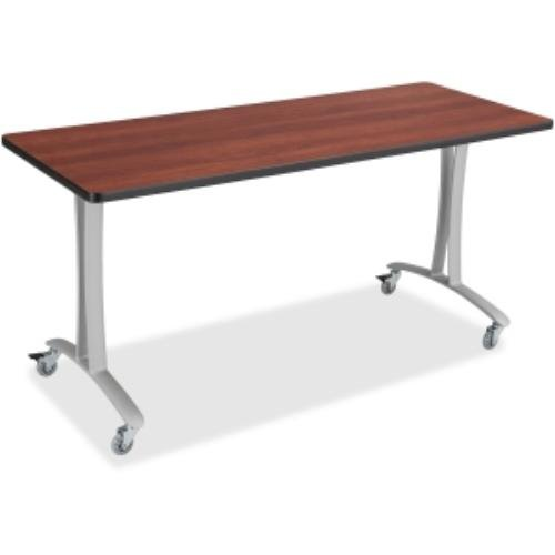 SAF2082SL - Safco Rumba Training Table T-leg Base w/Casters by Safco