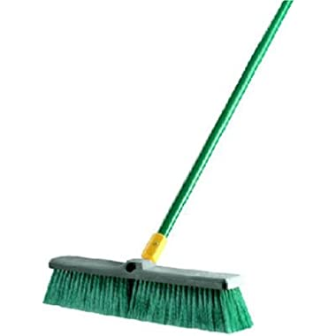 Quickie Bulldozer 18-Inch Poly Split Fiber Push Broom