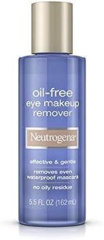 3-Pack Neutrogena Gentle Oil-Free Eye Makeup Remover & Cleanser 5.5 Fl Oz