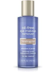 Neutrogena Effective and Gentle Oil-Free Eye Makeup Remover, 5.5 Fl. Oz (Pack of 1)