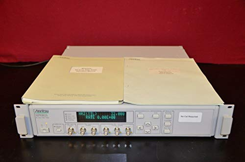 labtechsales Anritsu MP8302A Bit Error Rate Tester with Manual & Performance Test Sheets Bit Error Rate Tester