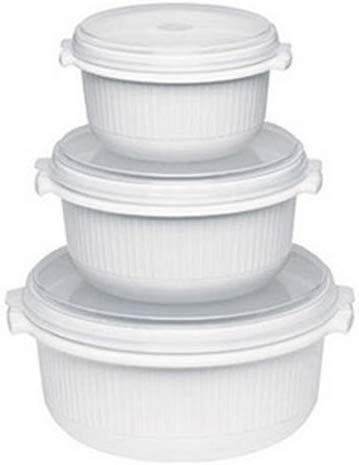 Kooten Micro Family - Juego de 3 ollas para microondas (0,5 ...