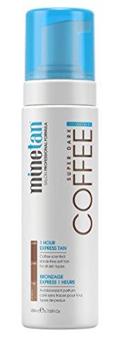(Hydrate Base Tans by MineTan Coffee Coconut Water Self Tan Foam 200ml)