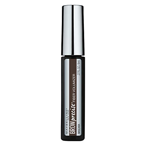 Maybelline New York Brow Precise Fiber Volumizer Eyebrow Mascara, Deep Brown, 0.27 fl. oz.